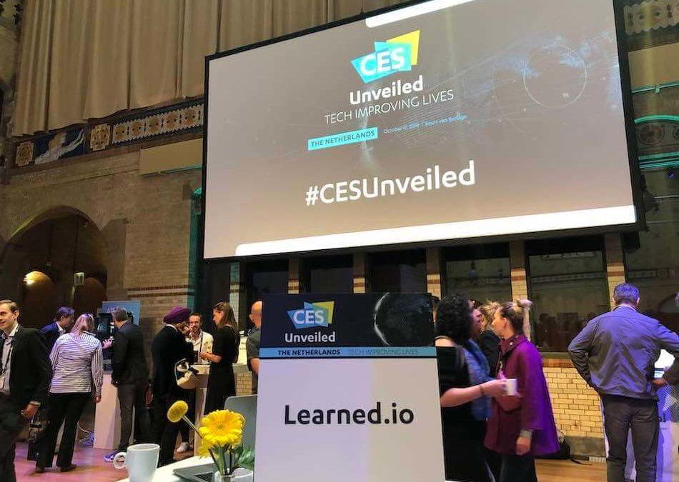 Learned.io als één van de 50 Nederlands meest innovatieve startups naar de CES 2020!